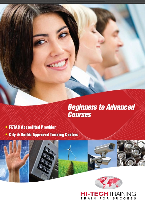 Hi-Tech Training Brochure