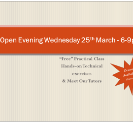 Open Evening March 2015